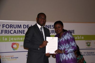 Le ministre ivoirien de la promotion de la jeunesse, de l'emploi des jeunes et du service civique, Sidi Tiémoko Touré a exprimé sa satisfaction à l'issue de ce Sommet dont les maîtres mots sont : mobilisation, implication et réussite.