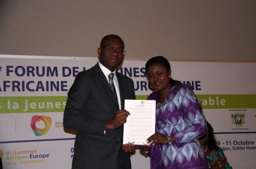 Article : 4e Forum de la jeunesse UA-UE, le satisfecit du Ministre Sidi Tiémoko