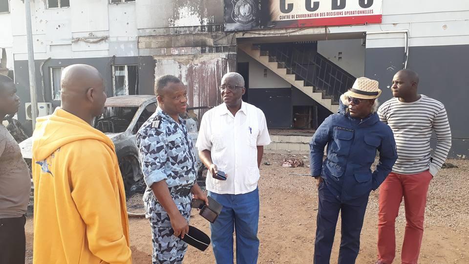 Le Maire de Bouaké, DJIBO Youssouf Nicolas,