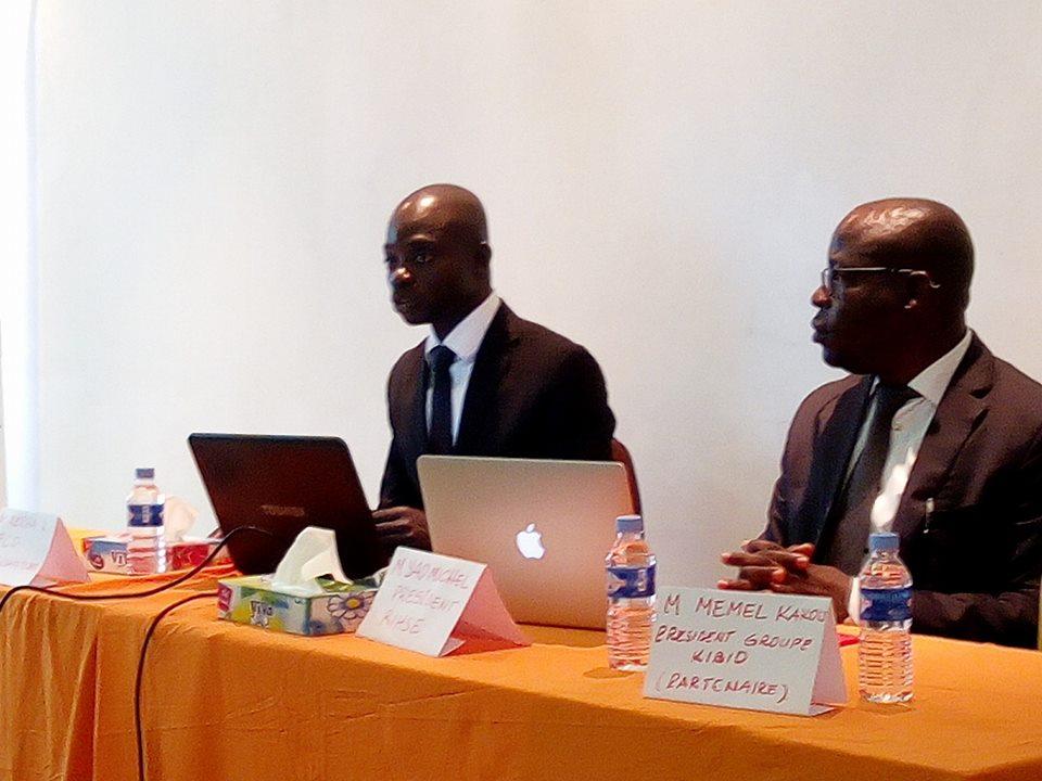 La 2e édition qui se tiendra les 20 et 21 avril 2018 a été annoncée mercredi dernier par le président du Réseau, Michel Yao, accompagné par le président du comité d'organisation, Dr. Ketcha K.