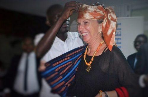 Article : L'hommage des ivoiriens à Inge Herbert