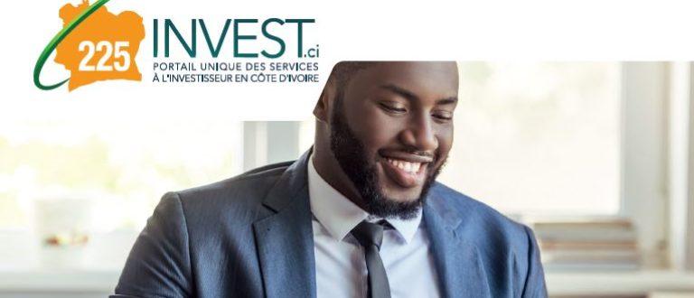 Article : 225invest.ci, le portail unique des services à l'investisseur en Côte d'Ivoire
