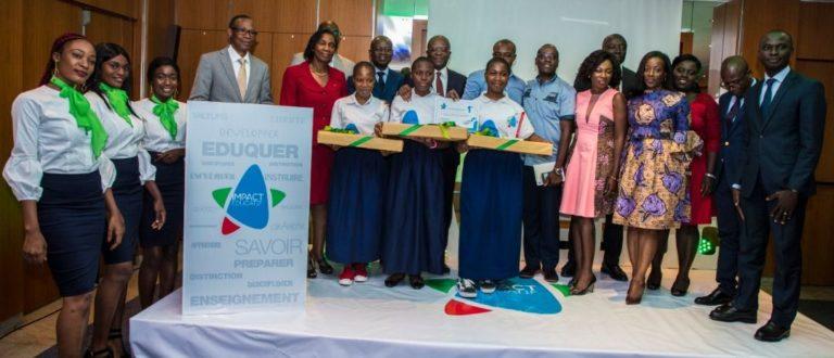 Article : Lycée Mamie Faitai de Bingerville vainqueur du Prix Impact Éducatif 2018