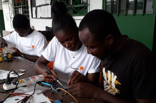 Article : Éducation numérique, la Fondation Orange CI équipe Baby Lab