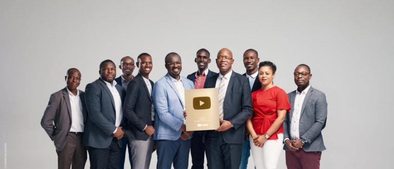 Article : La RTI décroche le trophée YouTube du million d'abonnés