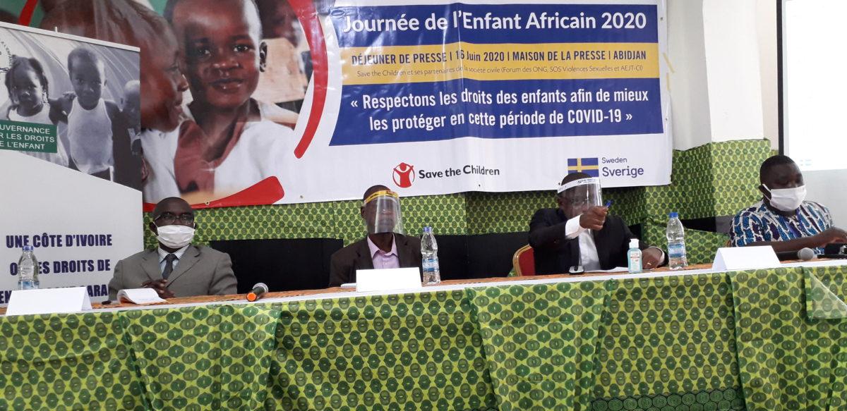 commémoration du 30ème anniversaire de la Journée de l'Enfant Africain en Côte d'Ivoire