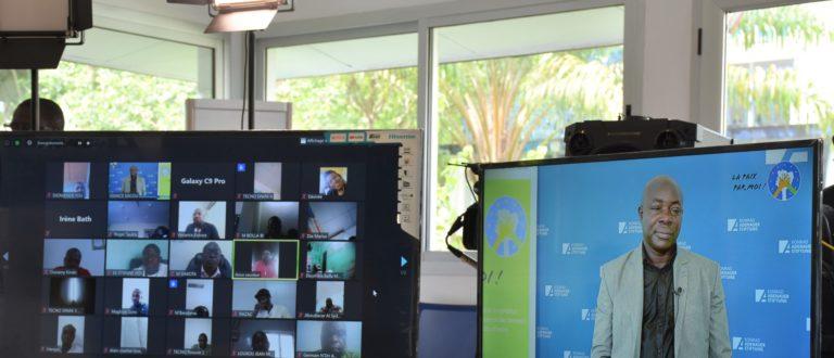 Article : Paix et cohésion sociale : des journalistes formés au traitement de l'information électorale